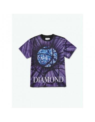 TRICOU DIAMOND POWDER BLUE / FLAMINGO SIGN TEE