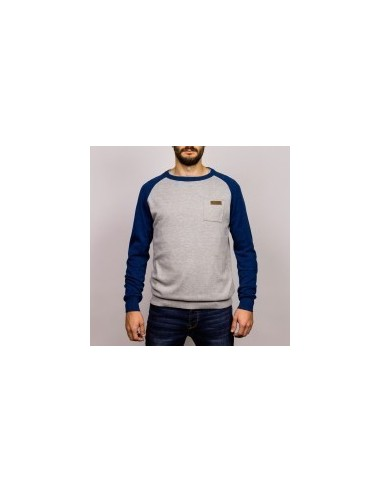 Pulover Hydroponic Chelsea Blue/Grey